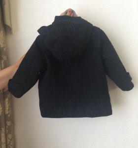 Детское пальто на мальчика
