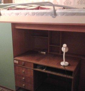 Спальный уголок со шкафом