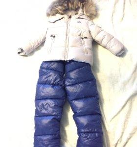 Зимний новый костюм moncler (монклер)