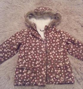 Куртка ( осень-весна) на девочку 3-4 года