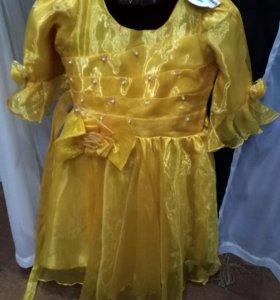 Платье новое с биркой,детское