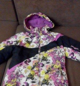 Куртка зима на девочку 9-10 лет