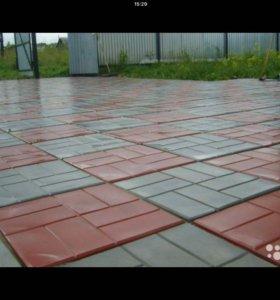 Продам оборудование для тротуарной плитки