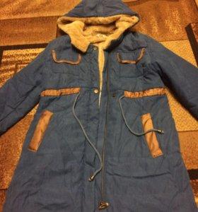 удлинённая куртка осень-зима-весна