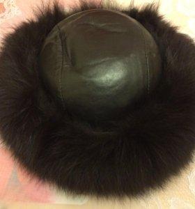 ❄️ Женская зимняя шапка из натурального меха песца