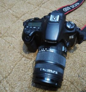 Адаптирую объектив sigma и Quantaray для Canon