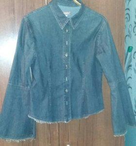 Куртка тонкая джинсовая