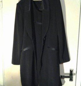 Платье с длинным пиджаком