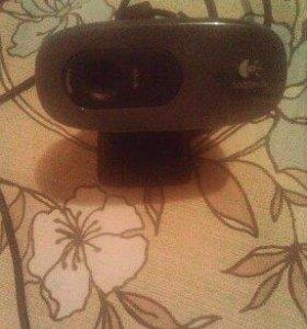 Продам web камеру logitech hd 720