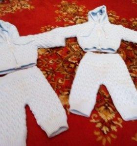 Детские -теплые костюмчики