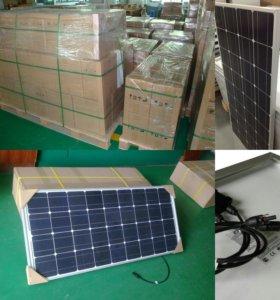 Солнечная панель 100 ватт 10 ампер