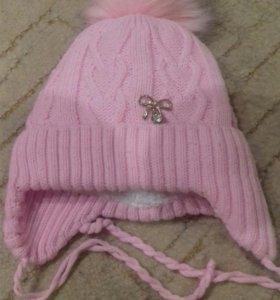 Комбинезон для девочки+шапка