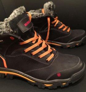 Новые мужские зимние ботинки Merell