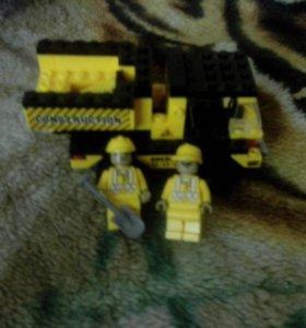 Китайский лего  грузовик