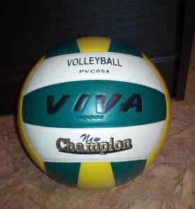 Мяч волейбольный Viva PVC054 рекомедован для игры