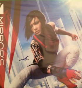 Новый диск для Xbox one mirrors edge