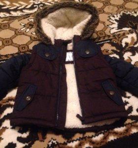 Курточка для мальчика на холодную осень/весну