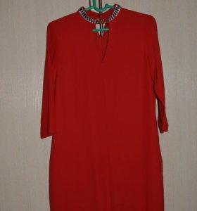 Турецкое красное платье