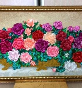 Розы, 107х55см