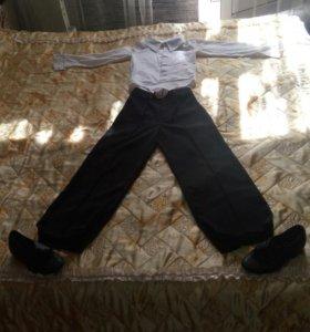 Рубашка боди + брюки для танцев