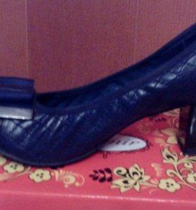 Туфли нат.кожа 38
