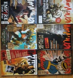 6 журналов Игромания 2009-2010г