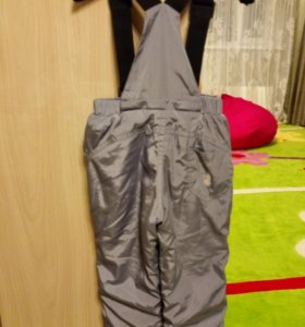 Утепленные брюки 92р