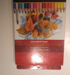 Акварельные карандаши Koh-i-noor 36 цветов