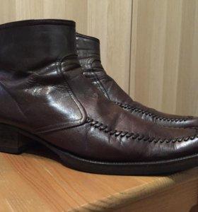 Ботинки-полусапожки 41 р зимние