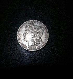 Монета One dollar