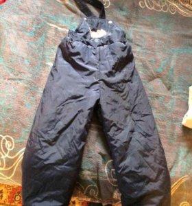 Зимние детские утепленные штаны