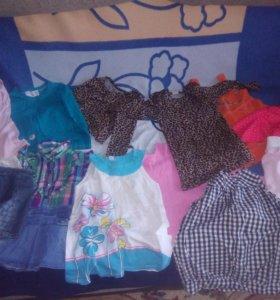 Вещи для девочки с 6мес до 3х лет