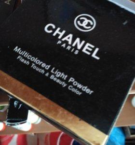 Палетка теней+ бронзатор Chanel