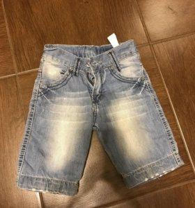 Шорты джинсовые на мальчика 1-2 года