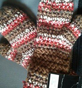 Варежки , перчатки новые