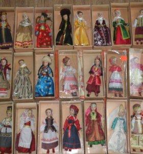 Коллекция кукол фарфоровых