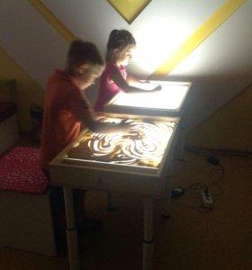 Световые столы для рисования песком