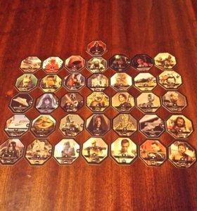 Полная коллекция карточек из магнита