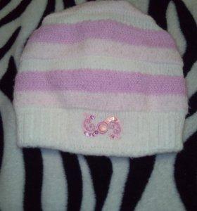 Зимняя шапка 6-8 лет
