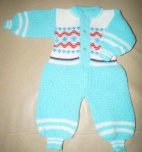 Вязанка для малышей, рост 62-68
