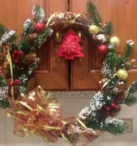 Рождественский венок🎄🛍