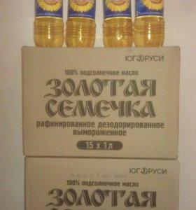 Масло Золотая Семечка 1 л
