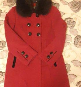Пальто . Зима