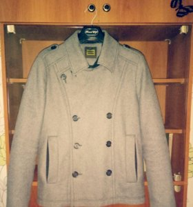 Мужское шерстяное пальто monton