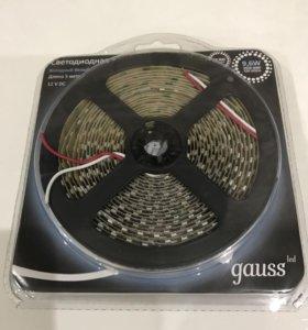 Светодиодная лента gauss 2 упаковки по 5 метров