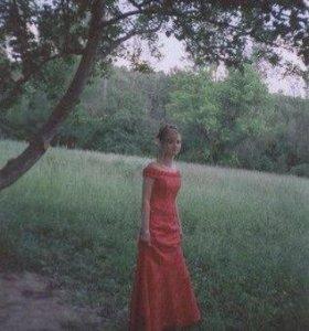 Платье выпускное 42 размер