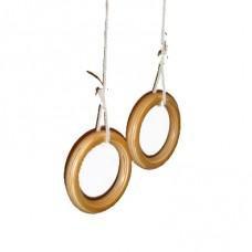 Деревянные гимнастические кольца