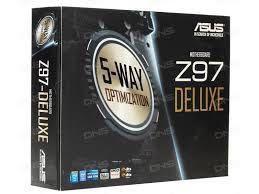 Продам новую материнскую плату ASUS Z97 DELUXE