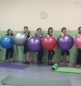 Женский фитнес, аэробика, пилатес