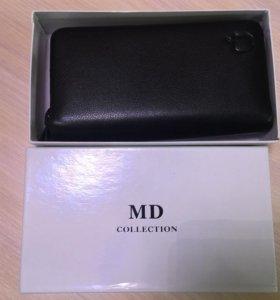 Стильный мужской кошелёк-портмоне MD Collection